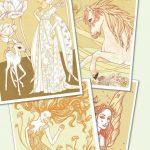 Kleuren op nummer tales and legends, Djeco