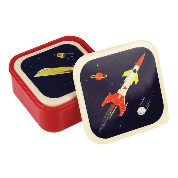 Snackdoosjes set space age, Rex London