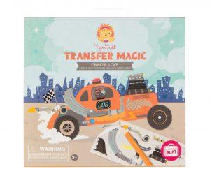 Transfer magic, create a car, Tiger Tribe