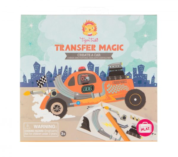 Transfer magic, create a car, Tiger Tribe