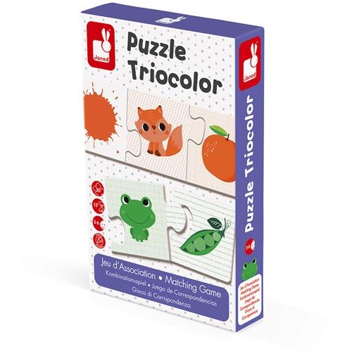 Puzzel triocolor Janod