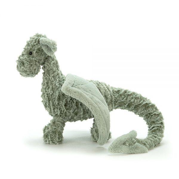 Knuffel draak Drake dragon, Jellycat