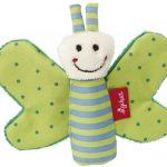 Sigikid, Grijpspeeltje vlinder groen (knisper)-0