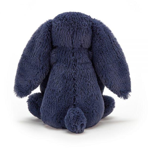 Knuffel konijn Bashful bunny navy 31 cm., Jellycat