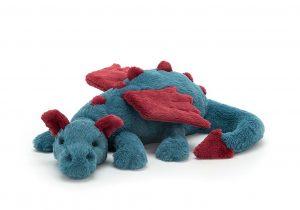 Knuffel draak Dexter dragon, Jellycat
