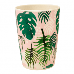 Bamboe beker tropical palm, Rex London
