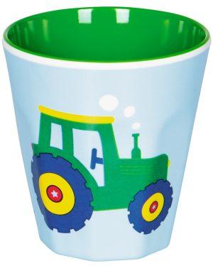 Melamine beker tractor, Spiegelburg