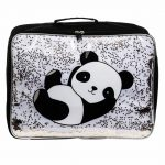 Koffer glitter panda, A Little Lovely Company