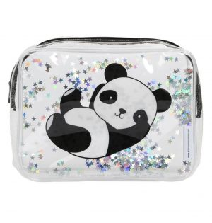 Toilettas glitter panda, A Little Lovely Company