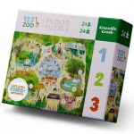 Puzzel Zoo (24stukjes), Crocodile Creek