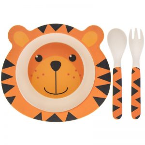 Bamboe kinderserviesje tijger, Lesser & Pavey