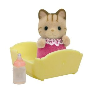 Striped cat baby, Sylvanian Families