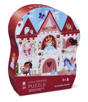Puzzel prinses (24 stukjes), Crocodile Creek