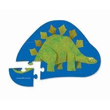 Puzzel stegosaurus (12 stukjes), Crocodile Creek