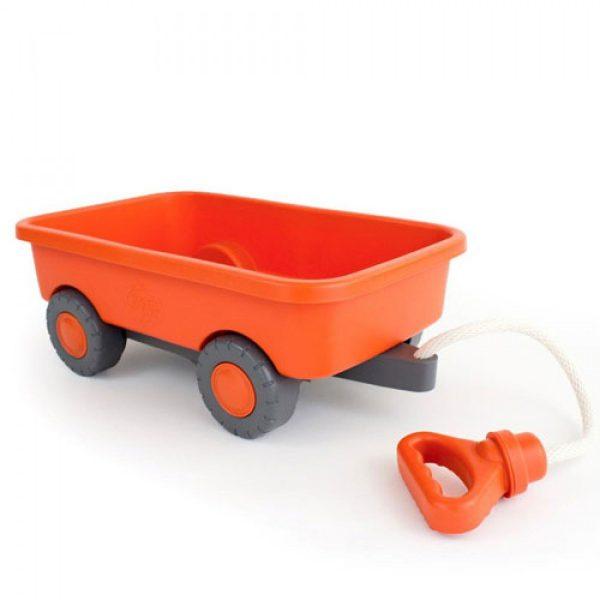 Oranje trekkar Green Toys