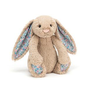 Knuffel bashful blossom bunny beige, Jellycat