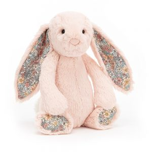 Knuffel konijn bashful blush bunny 18 cm., Jellycat