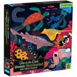 Glow in the dark puzzel ocean life (500 stukjes), Mudpuppy